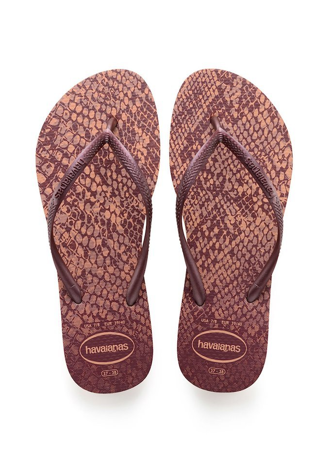HAVAIANAS SLIM ANIMALS - Crocus Rose. HAVAIANAS SLIM ANIMALS- Crocus Rose Flip  Flops for women ...