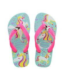 3193354b031dee Ice Blue   Shocking Pink. Rose Quartz. HAVAIANAS KIDS FREEDOM PRINT- Apple Green  Flip flops ...