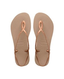 8547b8a1d17904 Rose Gold   Rose Gold. Grigio Acciaio. Nero. Rose Nude. More colors.  HAVAIANAS LUNA SPECIAL- New Graphite Sandals for women