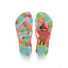 12f504078 Ice Blue   Coralnew. Rose Quartz. More colors. HAVAIANAS KIDS FREEDOM  PRINT- Verde manzana Flip flops for women. HAVAIANAS ...