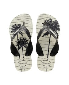 51de1ab65 HAVAIANAS KIDS MAX TREND- New Graphite   White Flip flops for women