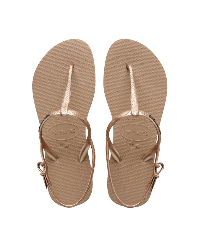 Havaianas YOU RIVIERA - T-bar sandals - rose gold D8uWb