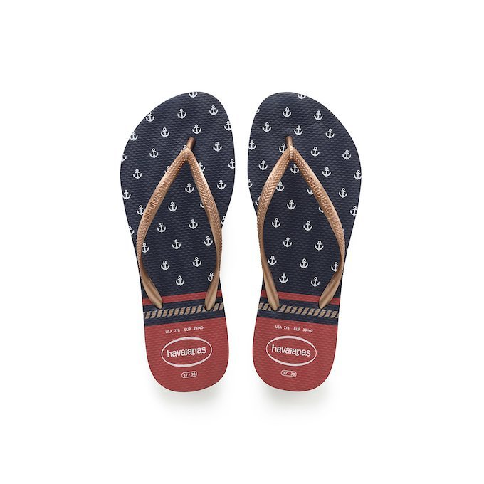 Havaianas Slim Nautical New arrivals  7f13035466