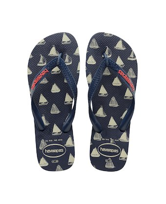 b2301cb0d293 ... HAVAIANAS TOP NAUTICAL- Navy Blue   Navy Blue Flip flops for women ...