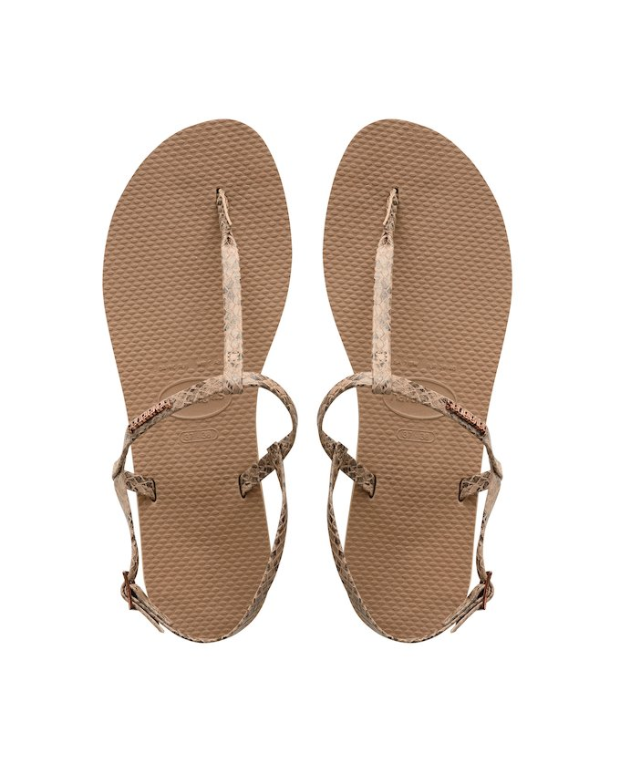 344798e5fd4b HAVAIANAS YOU RIVIERA CROCO - Rose Gold