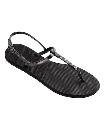 a0e609571dc0bc ... HAVAIANAS YOU RIVIERA CRYSTAL- Black Collection for women