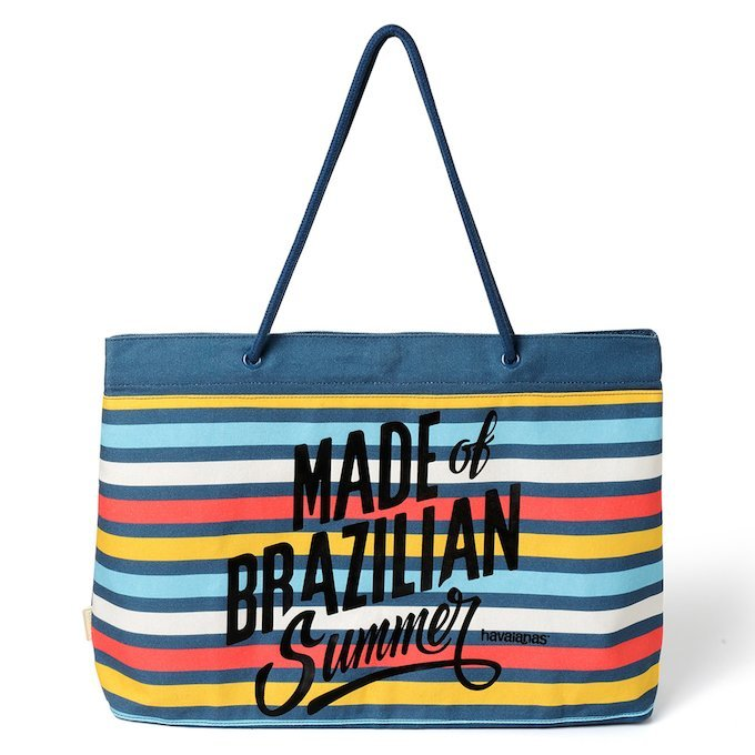 SHOPPING BAG STRIPES